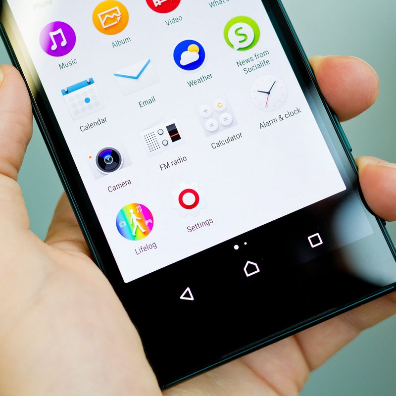 Sony Xperia Z5 applications