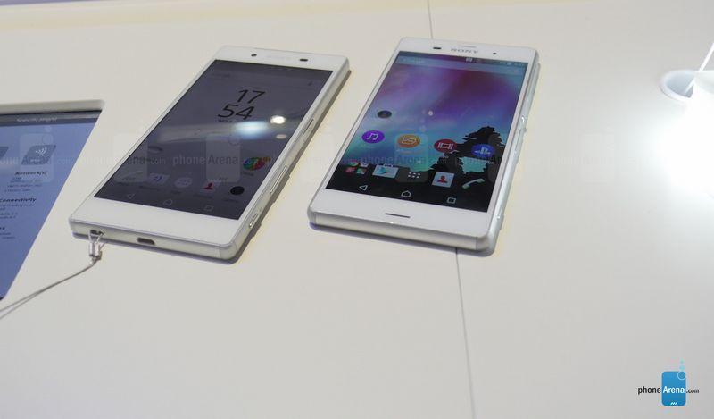 Sony Xperia Z5 vs Xperia Z3