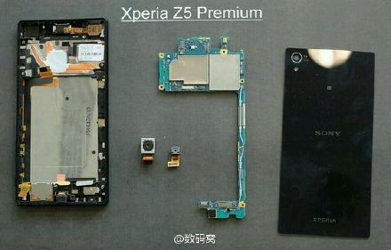 Xperia Z5 Premium desosse