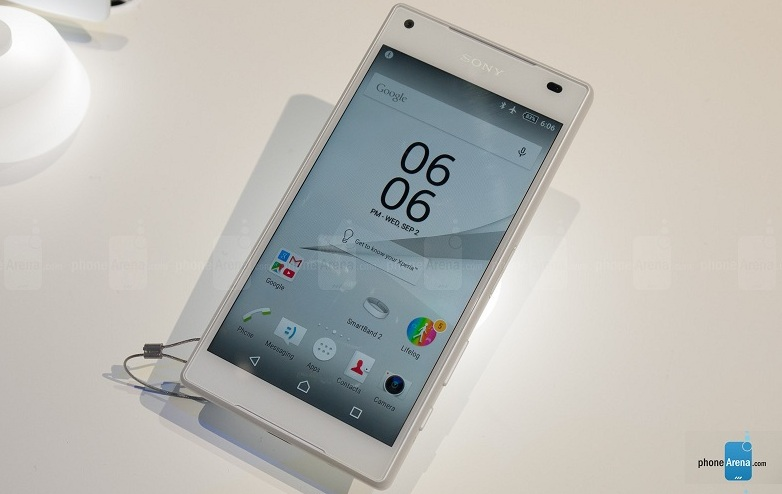 Sony Xperia Z5 Compact mains IFA