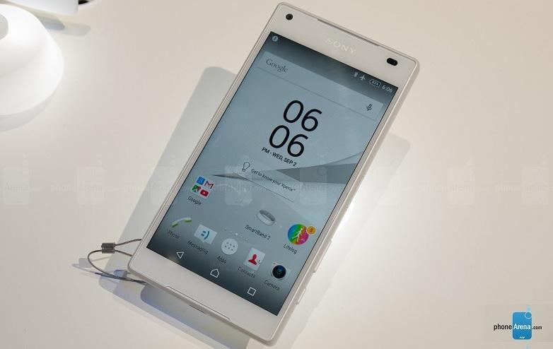 Sony Xperia Z5 Compact mains IFA
