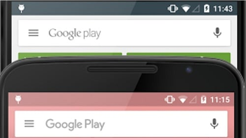Google Play Store Font