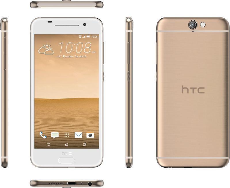 HTC One A9 rose gold