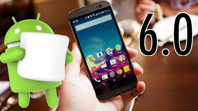 HTC One M8 Android 6.0 Marshmallow