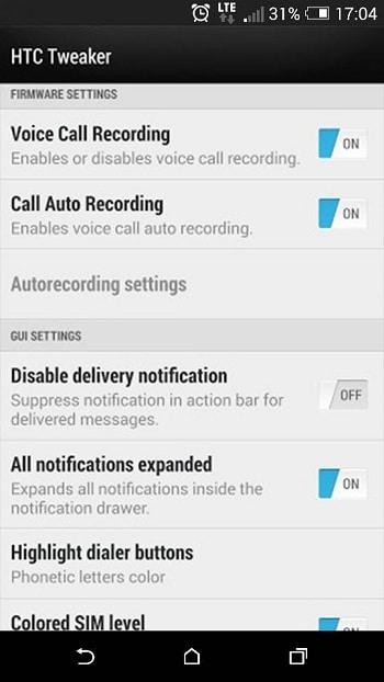 HTC Tweaker 2