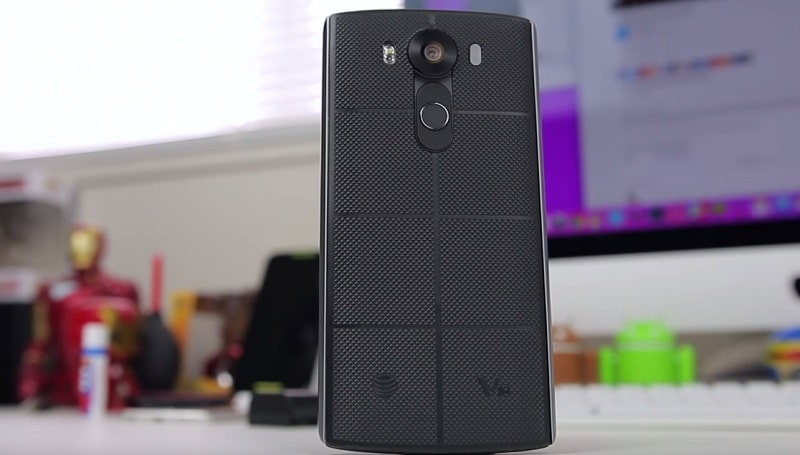 LG V10 test chute