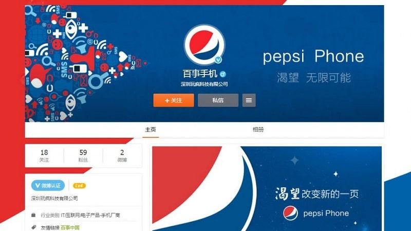 Pepsi Phone Pepsi P1