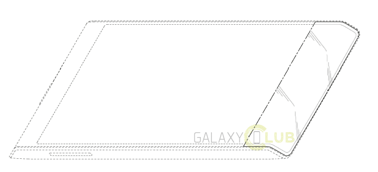 Samsung flexible trapezoidal samrtphone