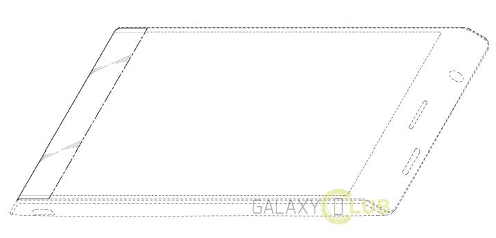 Samsung flexible trapezoidal
