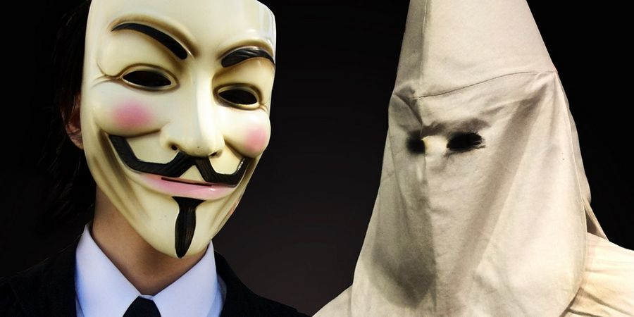 Anonymous Ku Klux Klan