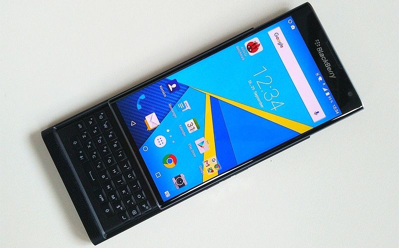blackberry priv appareil photo