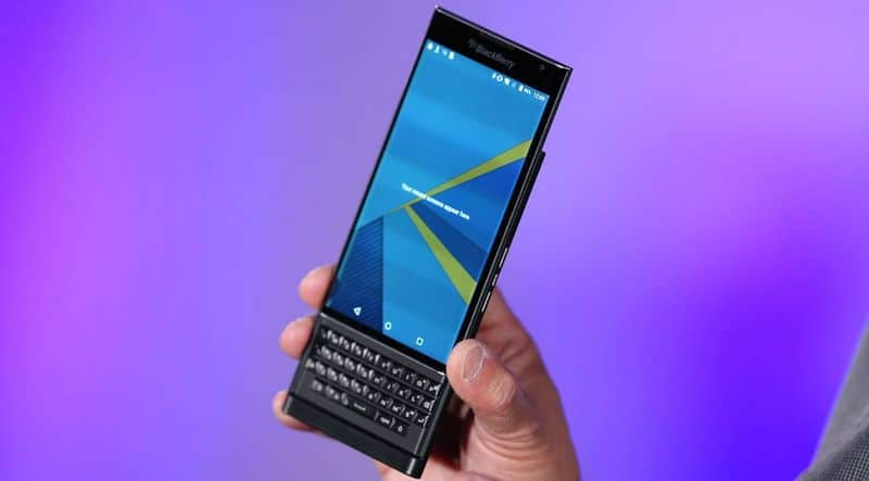 BlackBerry Priv caracteristiques techniques