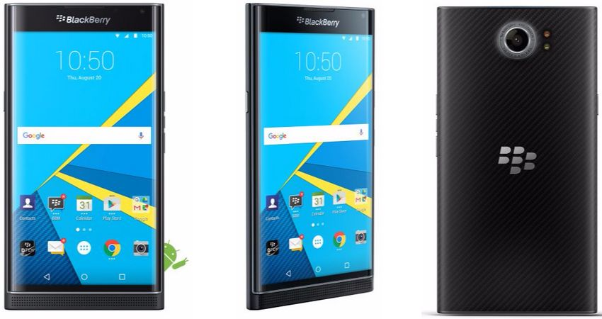 BlackBerry Priv fiche technique