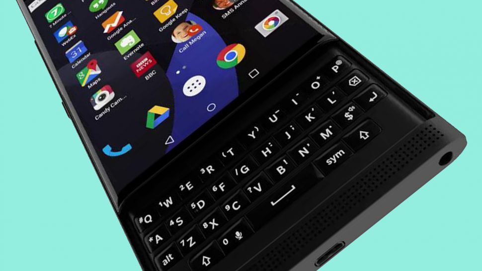 BlackBerry Priv objectifs