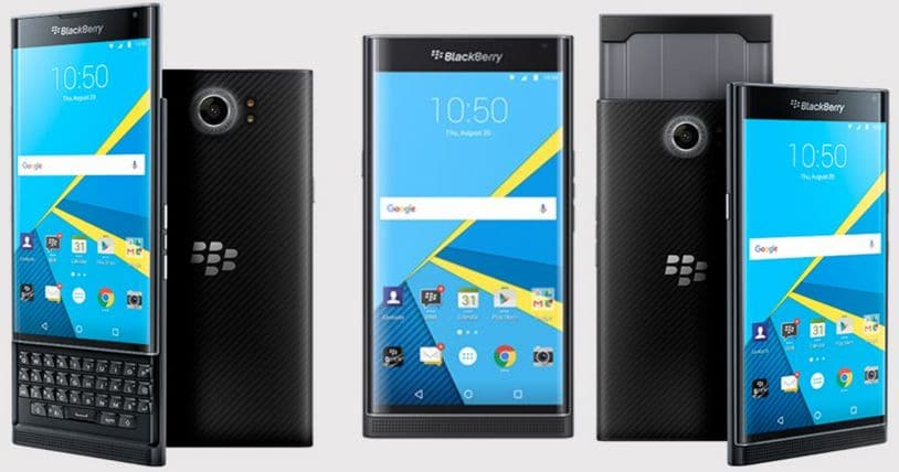BlackBerry priv officiel