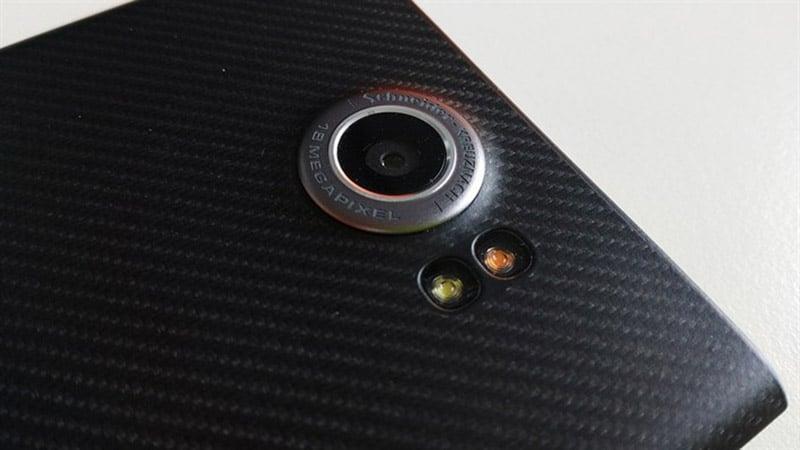 blackberry priv prise en main appareil photo