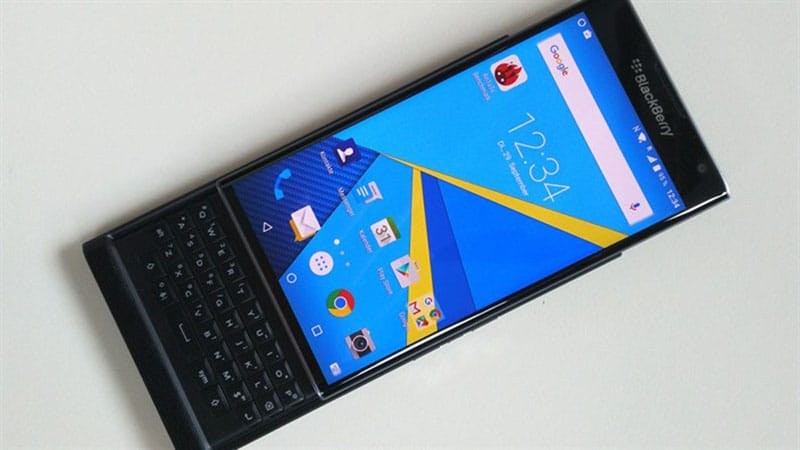 blackberry priv écran