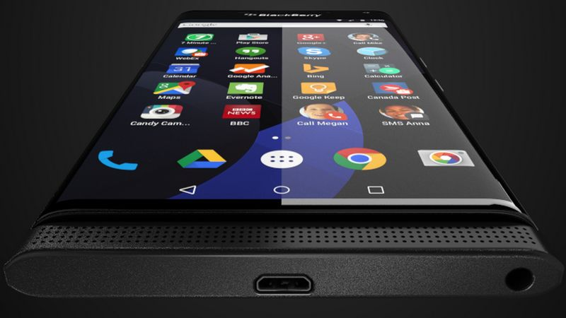 BlackBerry Priv USB