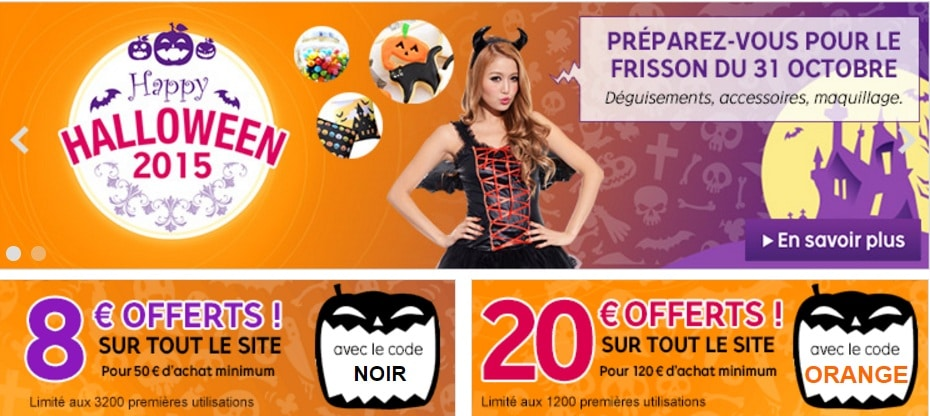 Bon plan Halloween