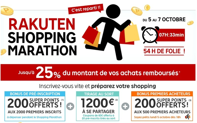 bon plan shopping marathon