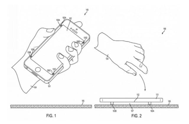 brevet Apple ecran smartphone