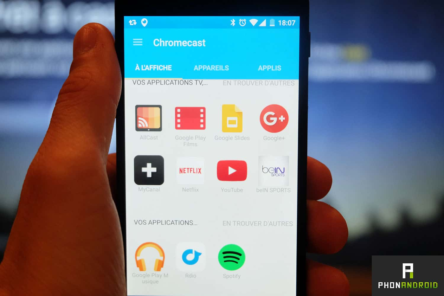 chromecast 2 application android