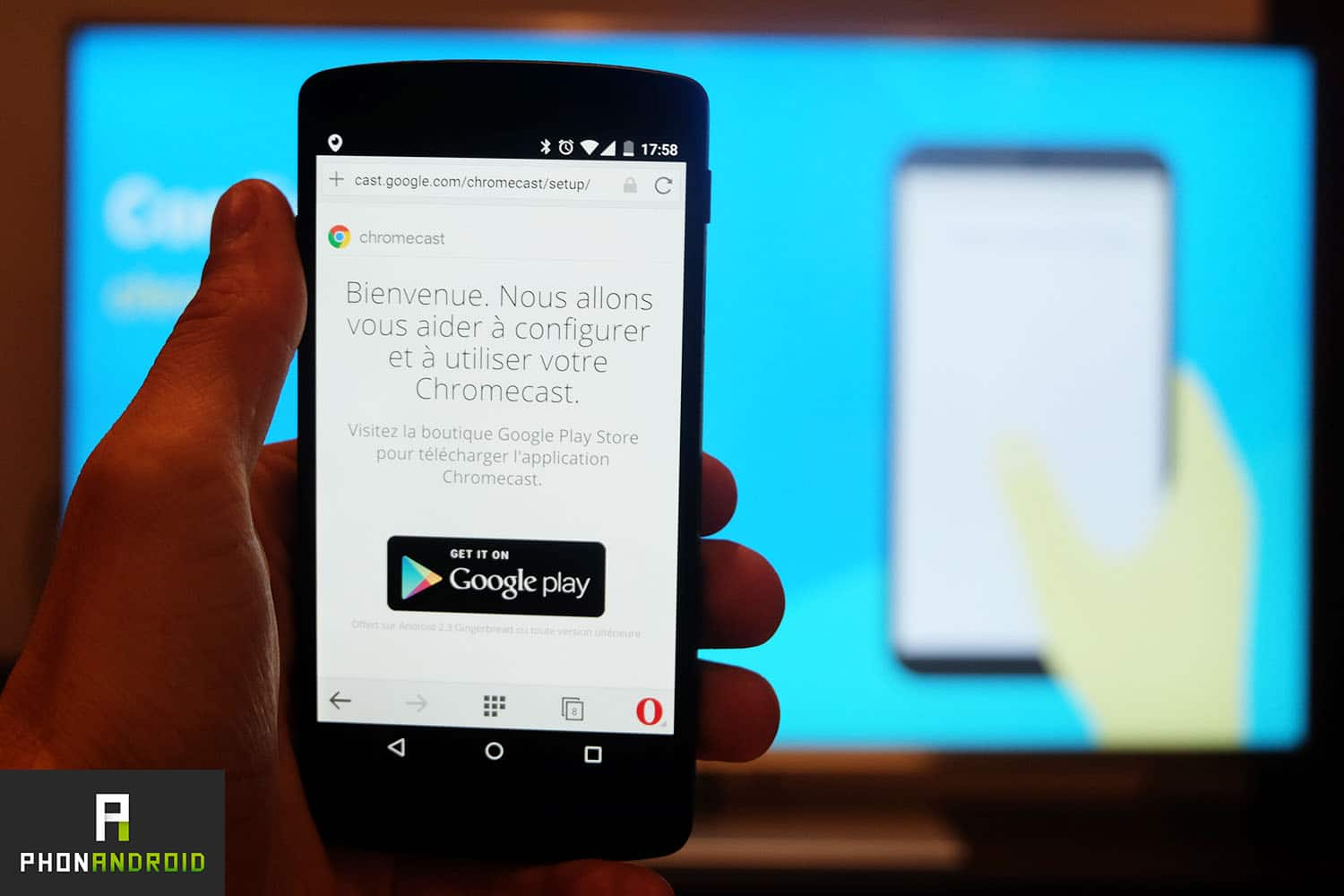 chromecast 2 configuration android