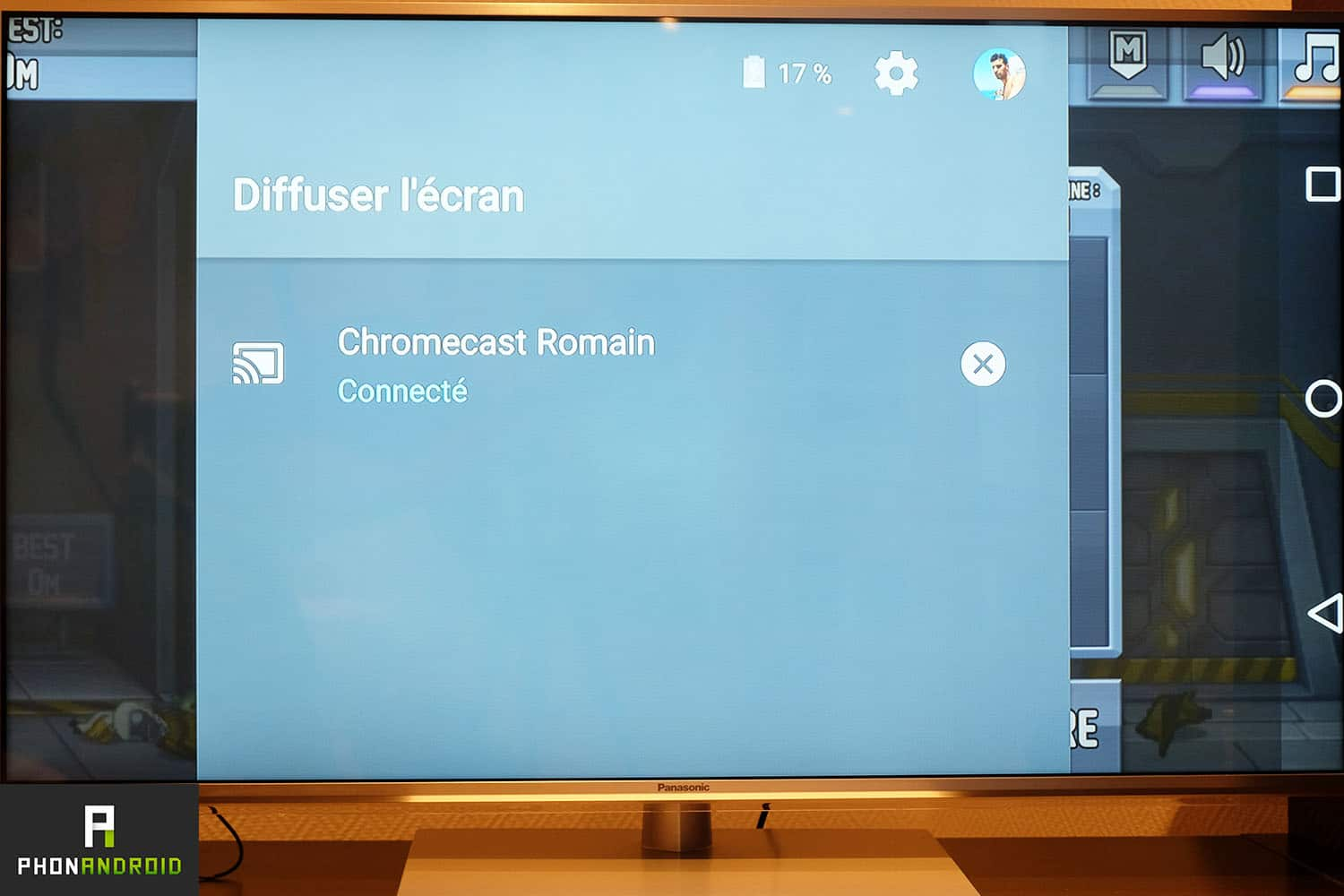 chromecast 2 recopie video