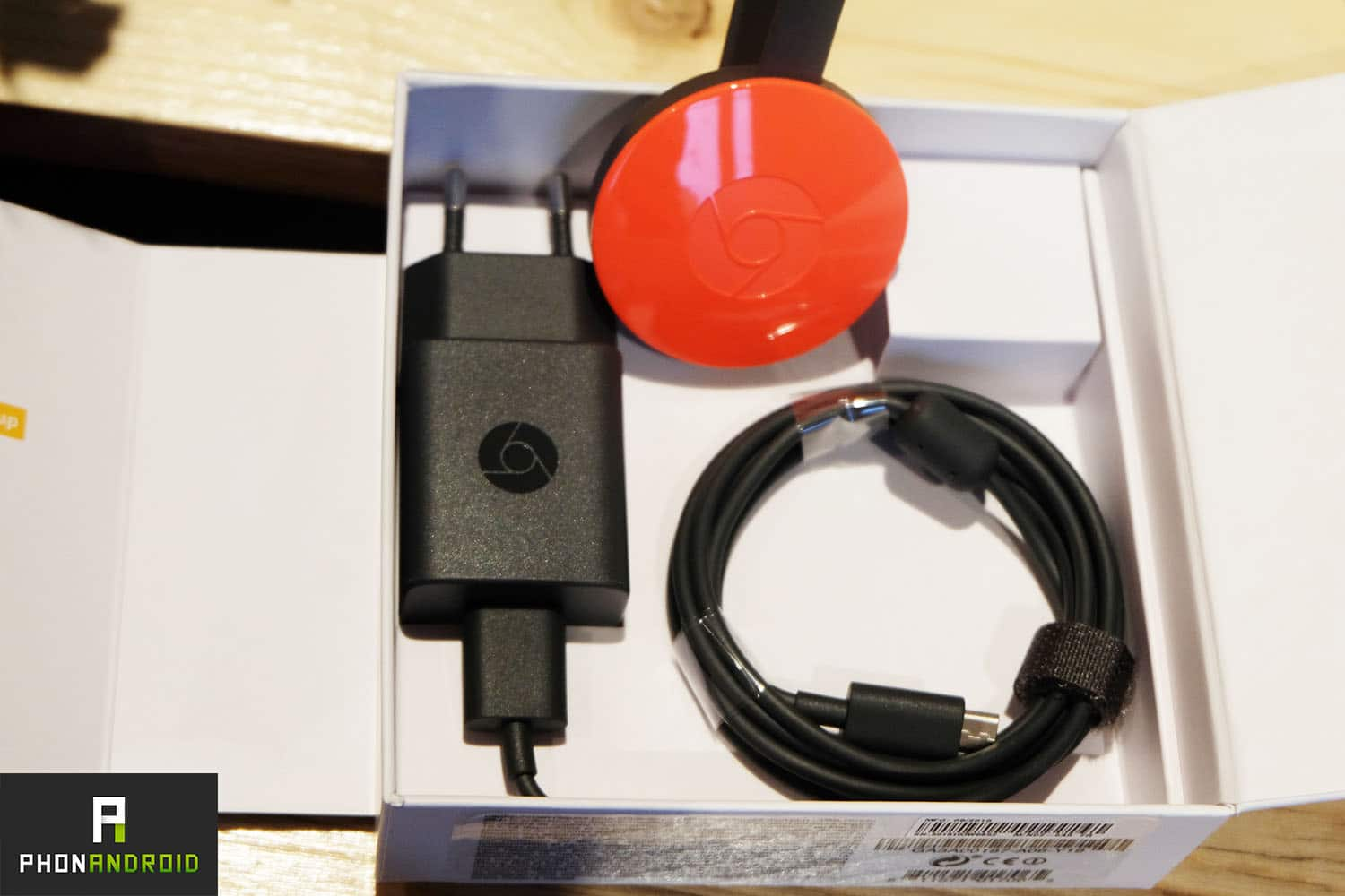 chromecast 2 unboxing