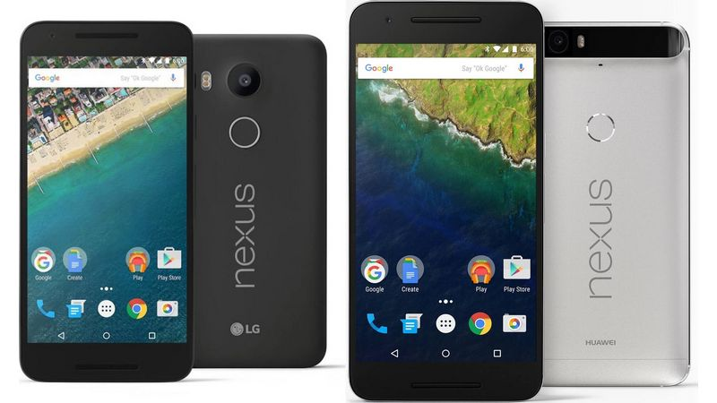 deballage Nexus 5X 6P