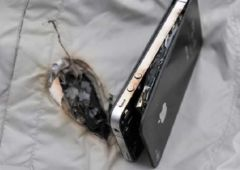 explosion iphone