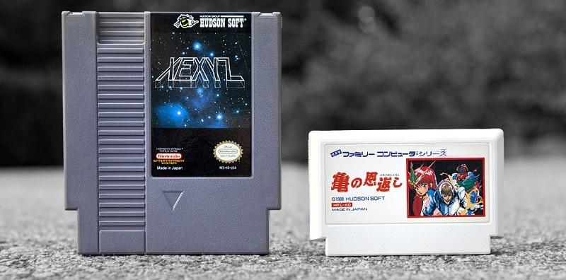Famicom nintendo cartouches