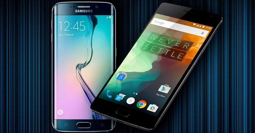 Galaxy S6 Edge OnePlus 2