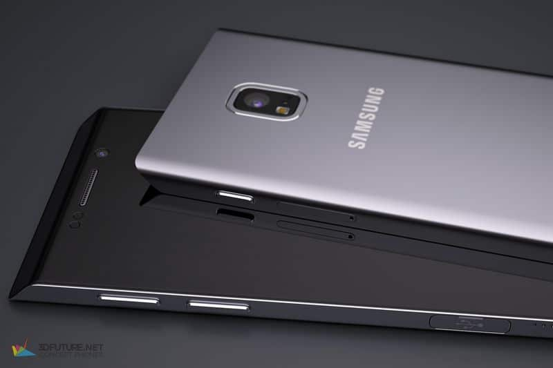 Galaxy S7 Edge concept