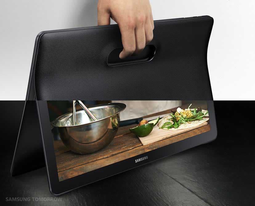 samsung officialise la galaxy view sa tablette de 18 4 pouces la meilleure pour le multim dia. Black Bedroom Furniture Sets. Home Design Ideas