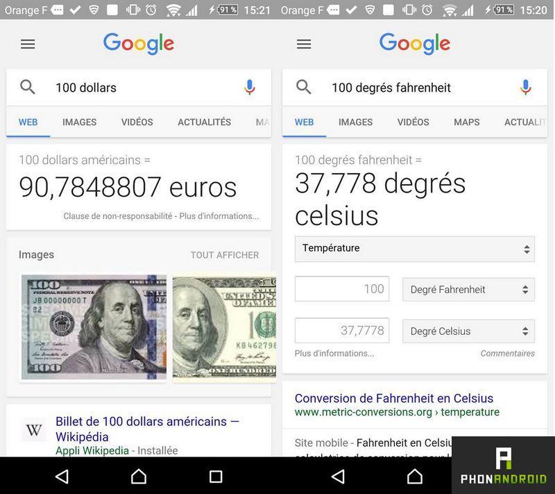 google conversion