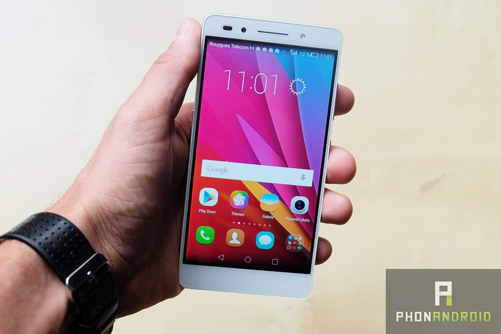 Honor 7 vs nexus 5x le flaghship killer face au google phone for Photo ecran honor 7