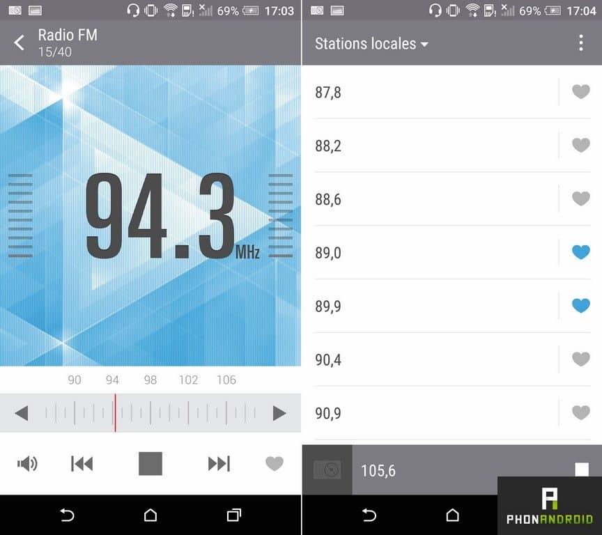 htc one a9 radio fm