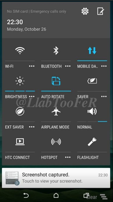 HTC One M8 Android MarshmallowSense 7