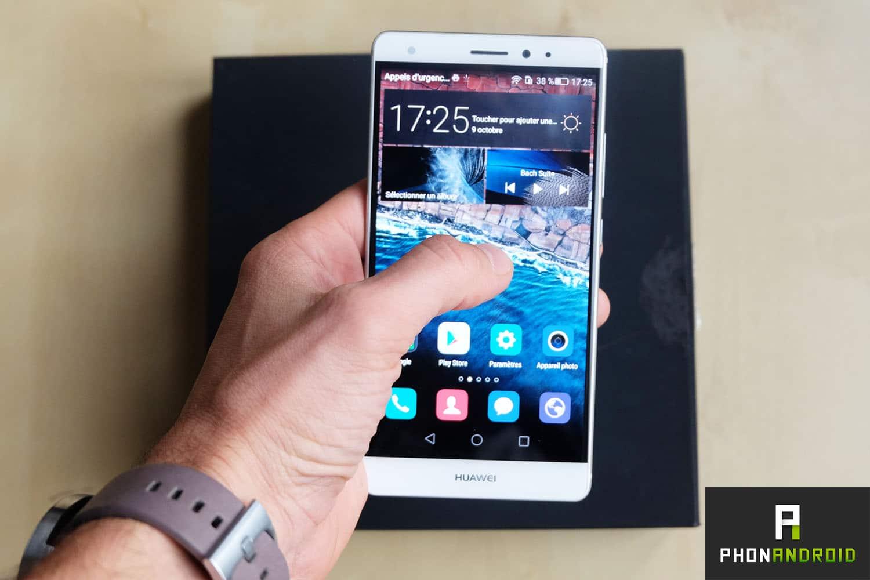 Huawei Mate S Press Touch : le Force Touch est enfin disponible sur Android pour 799 euros