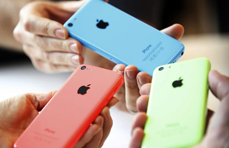 iPhone 5c orange