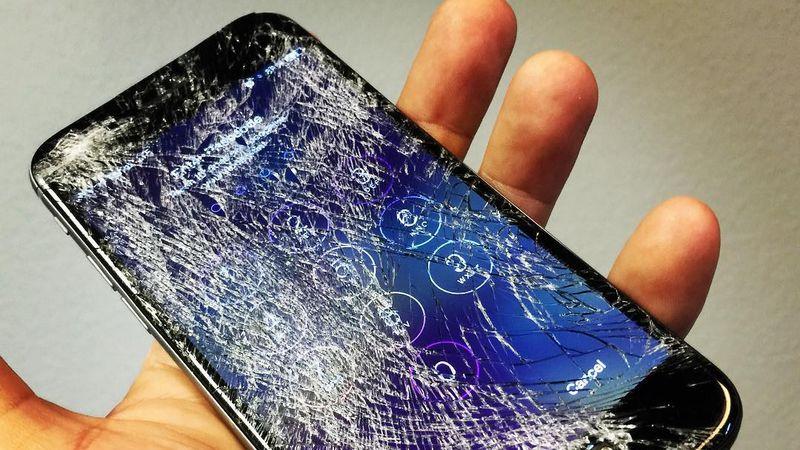 iPhone ecran casse