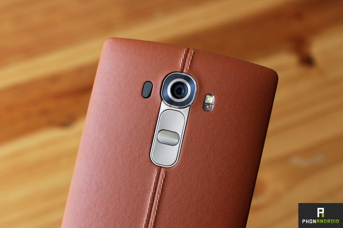 LG G4 appareil photo