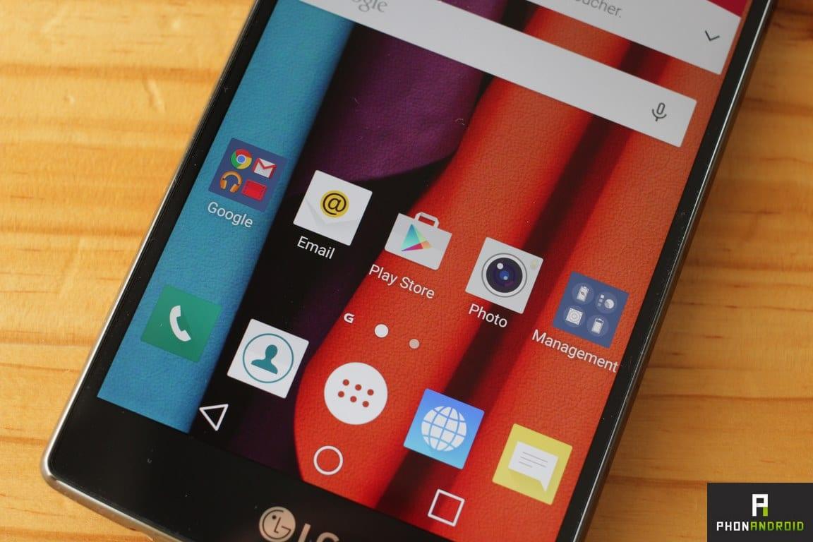 LG G4 ecran