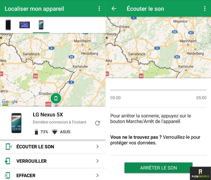 Comment localiser un portable Samsung ou autre téléphone Android perdu