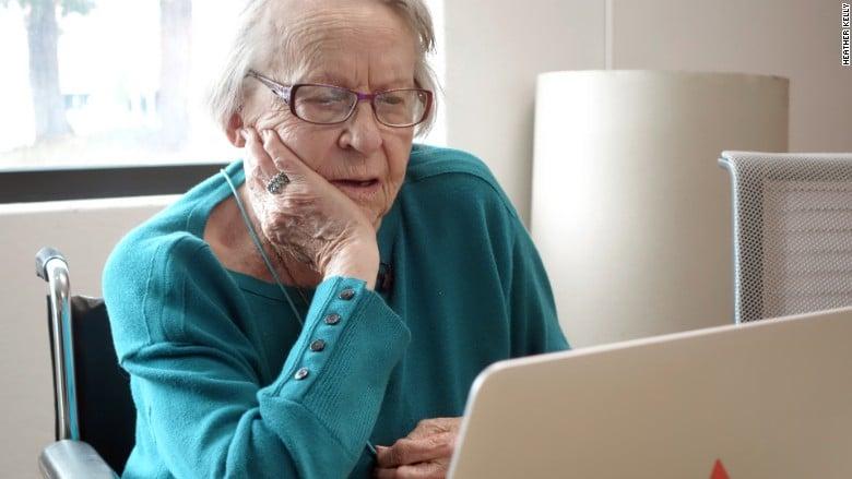mamie 97 ans google reve high tech