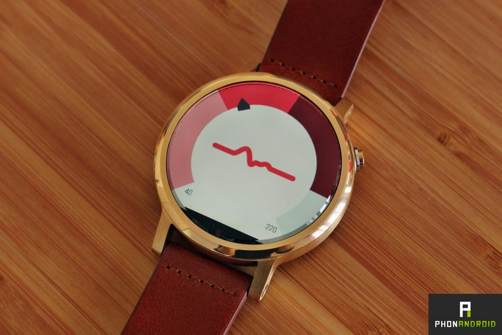 moto 360 2 frequence cardiaque