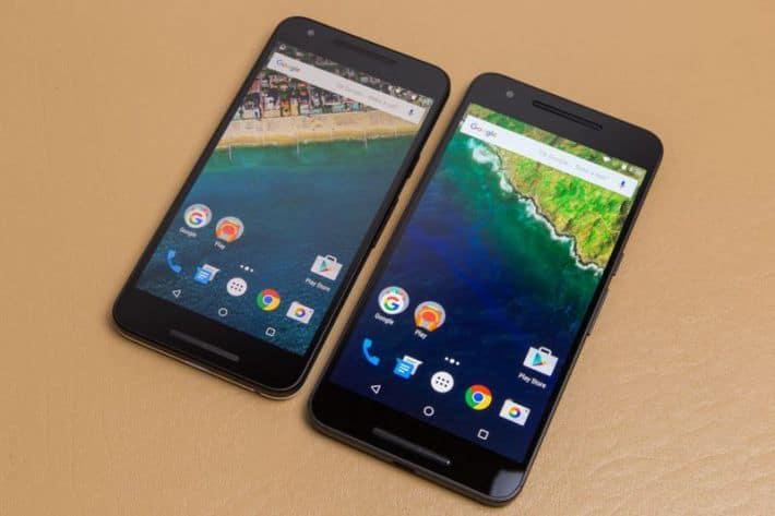 Nexus 5X 6P video