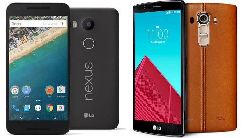 Nexus 5X LG G4