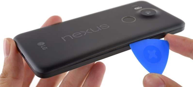 Nexus 5X demontage